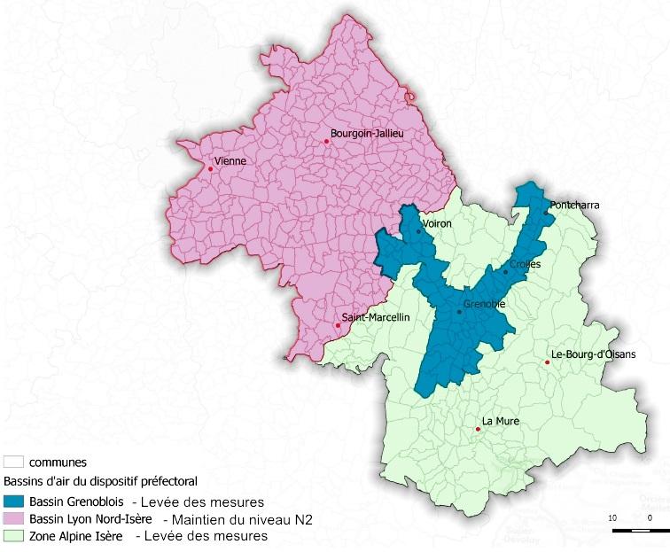 pollution fin de mesure sur bassins grenoblois u0026zone alpine  maintien sur bassin lyonnais  nord