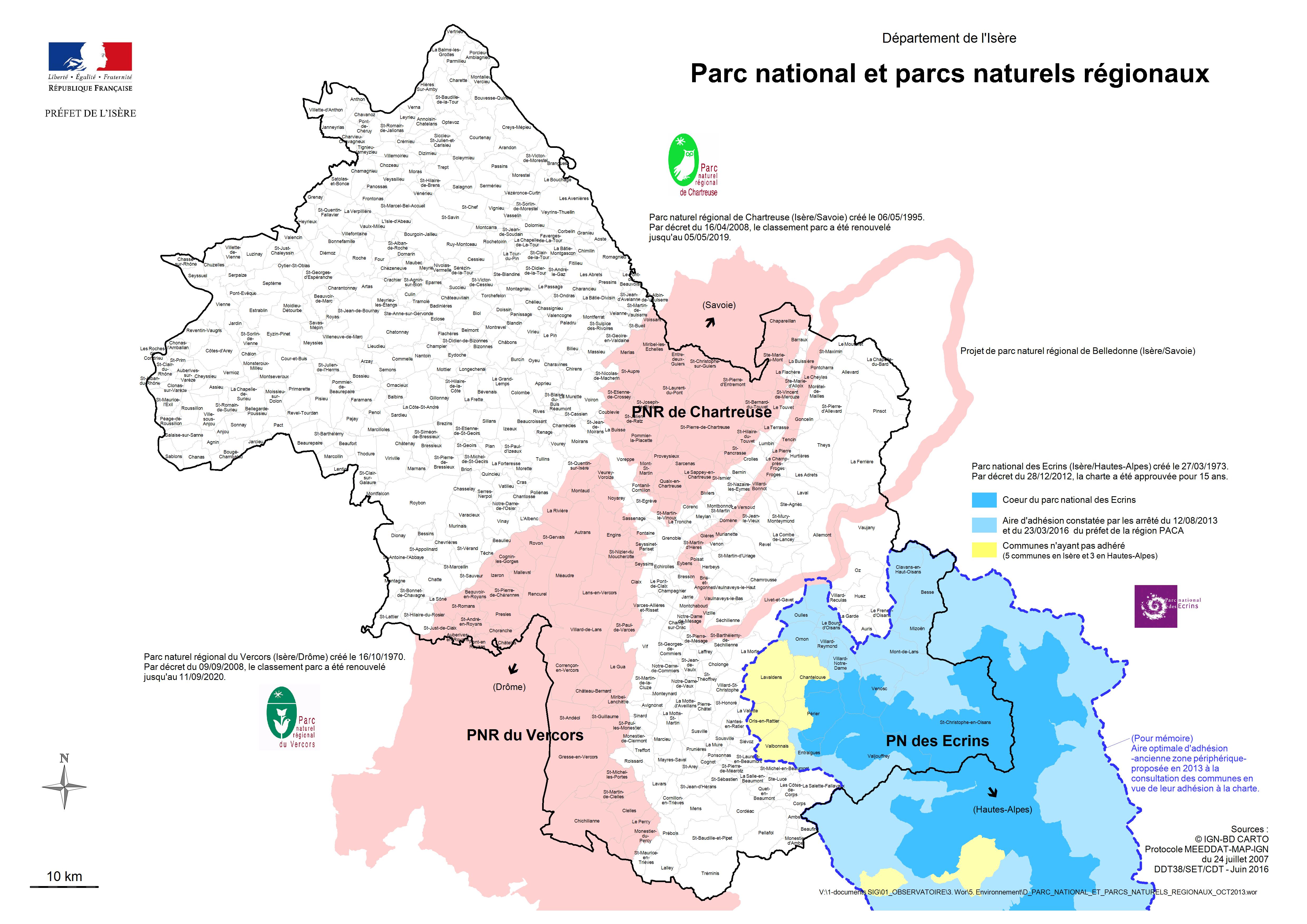 Parc national et parcs r gionaux g n ralit s - Conseil national des parcs et jardins ...